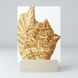 Shells vintage color illustration Mini Art Print