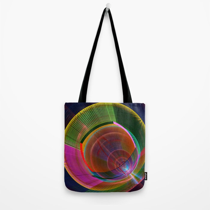 Colourful geometric abstract Tote Bag