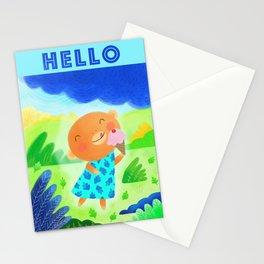 IceCream Monkey Stationery Cards