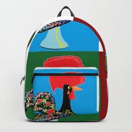 Portuguese Rooster Cluster Backpack