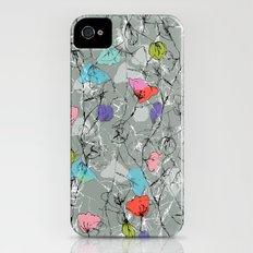 Crawling leaves iPhone (4, 4s) Slim Case