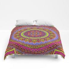 Hippie mandala 56 Comforters