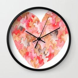 Love 43 Wall Clock