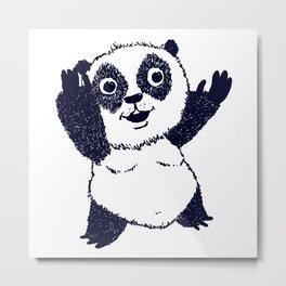Sinon, un panda (6) - collector Metal Print