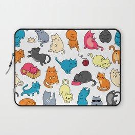 hey kitty kitty Laptop Sleeve