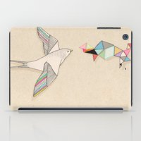 wesley bird iPad Cases featuring bird by Belén Segarra