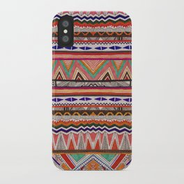 TRIBAL NOMAD iPhone Case
