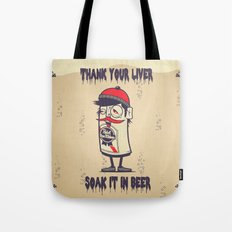 Thank Your Liver Tote Bag
