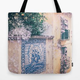 Lemon Trees and Tiles Tote Bag