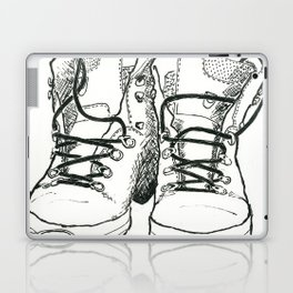 Walking Boots Laptop & iPad Skin