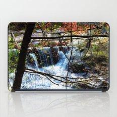 ˈwôtərˌfôl iPad Case
