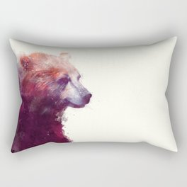 Bear // Calm Rectangular Pillow
