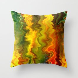 Colorful Thoughts by rafi talby Throw Pillow