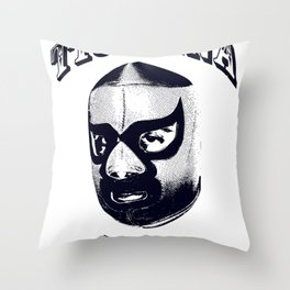 CLASSIC LUCHADOR STYLE Throw Pillow