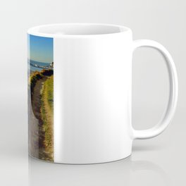Dover Docks from the White Cliffs Coffee Mug