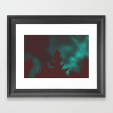 Late nights Framed Art Print
