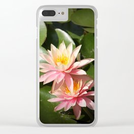 Pond's beauty Clear iPhone Case