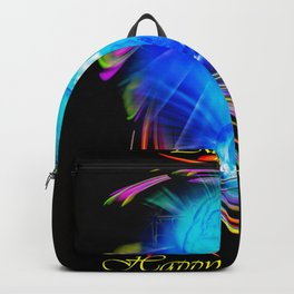 Zodiac sign Aquarius  Happy Birthday Backpack