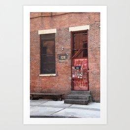 Brooklyn, New York, 126 Front Street 2009 Art Print