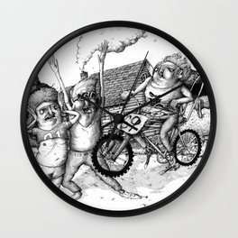 Kid Icarus Wall Clock