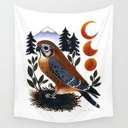 The Blue Ridge Kestrel Wall Tapestry