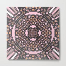 Complex geometric abstract Metal Print