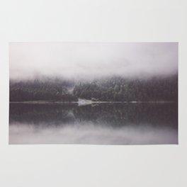 Misty mirror Rug