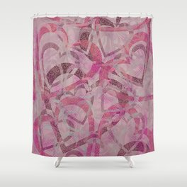 Heart Crush Shower Curtain
