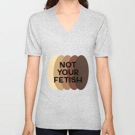Feminist statement tee, brown women united  Unisex V-Neck