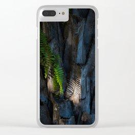 fern shadow Clear iPhone Case
