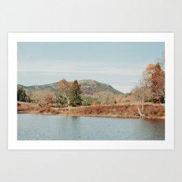 A Weekend in Autumn Art Print