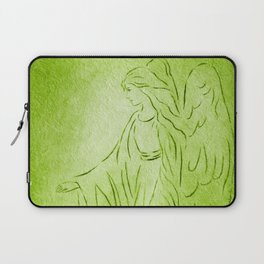 Angel of Healing - Abstract Angel Picture Laptop Sleeve