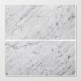 Gray Slabs of Granite Canvas Print