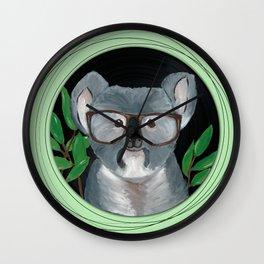 Koala on vinyl Wall Clock
