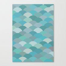 Circles Abstract 4 Canvas Print