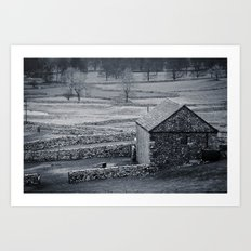 The Barn Art Print