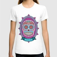 mexican T-shirts featuring Mexican Skull by Xonomitl