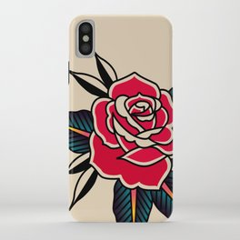 Rose Traditional iPhone Case