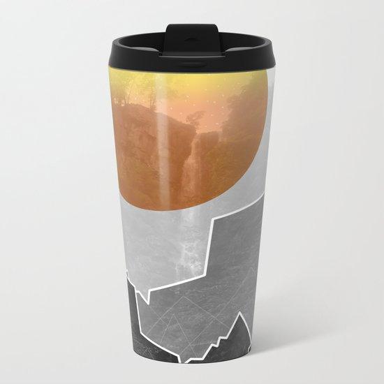 The Waterfall Metal Travel Mug