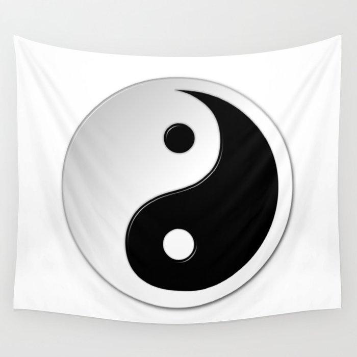 Yin Yang Symbol Wall Tapestry By Markuk97 Society6