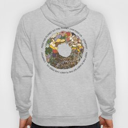 Feed the Planet Composting Wheel Hoody