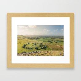 Loughcrew Ireland Framed Art Print