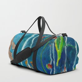 Deep blue Duffle Bag