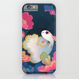 Flower guppy iPhone Case