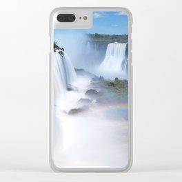 Iguazu Falls Clear iPhone Case