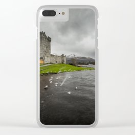 Ross Castle, Killarney, Ireland Clear iPhone Case