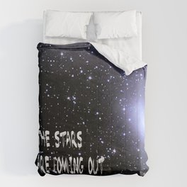 the stars are coming out tonite  U.S. Comforters