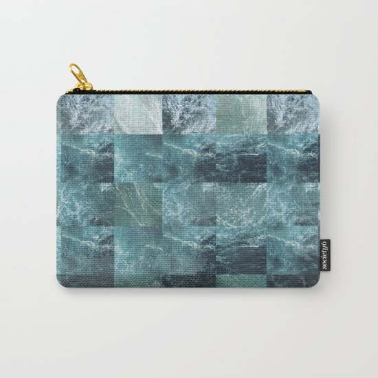 Abstract sea Carry-All Pouch