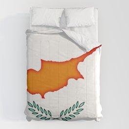 Cyprus flag Comforters