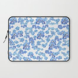 Forget me not I Laptop Sleeve